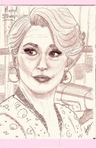 Meryl Streep par isabella1988